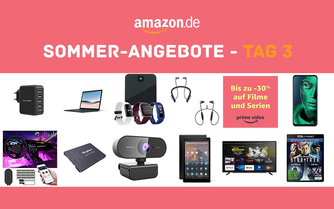Sommer-Angebote bei amazon.de - Tagesangebote und Blitzangebote - Tag 3