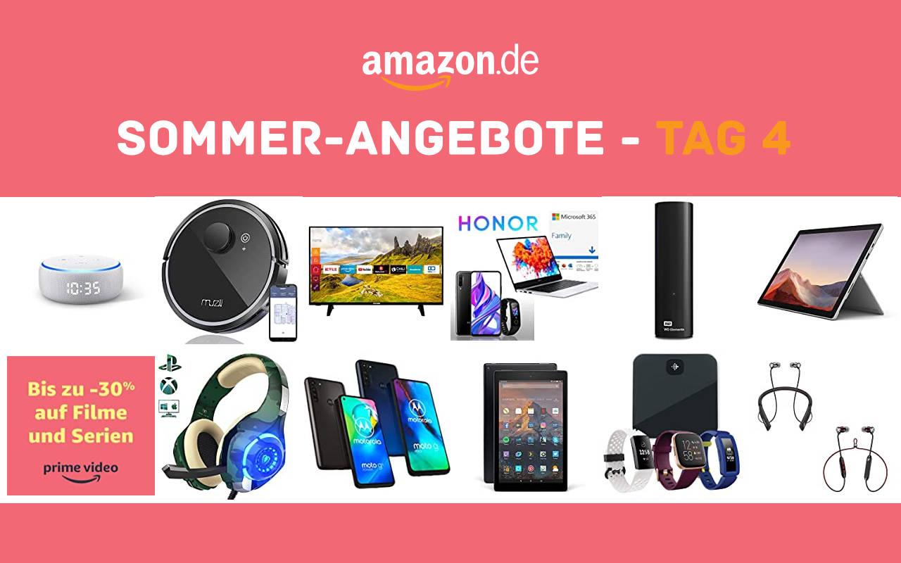 Sommer-Angebote bei amazon.de - Tagesangebote und Blitzangebote - Tag 4