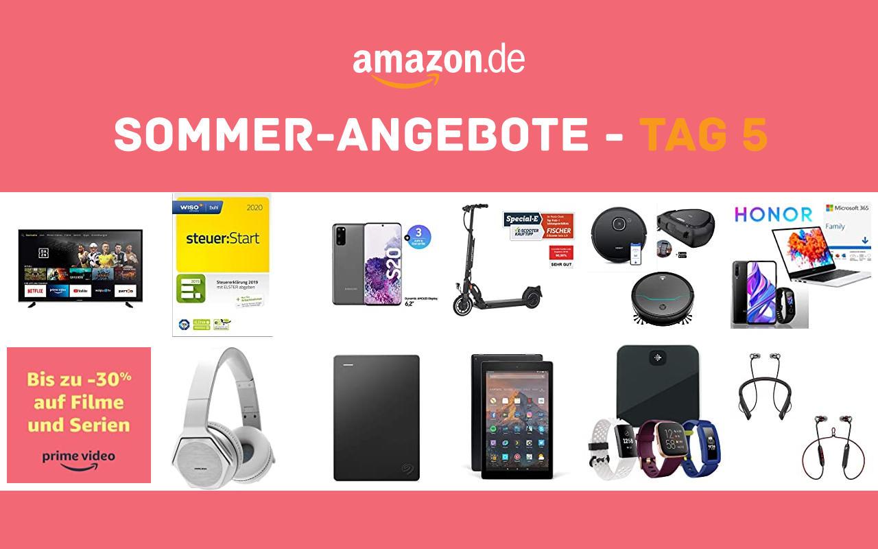 Sommer-Angebote bei amazon.de - Tagesangebote und Blitzangebote - Tag 5