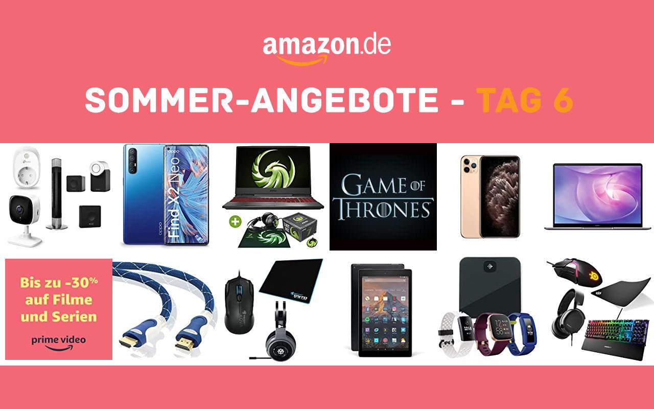 Sommer-Angebote bei amazon.de - Tagesangebote und Blitzangebote - Tag 6