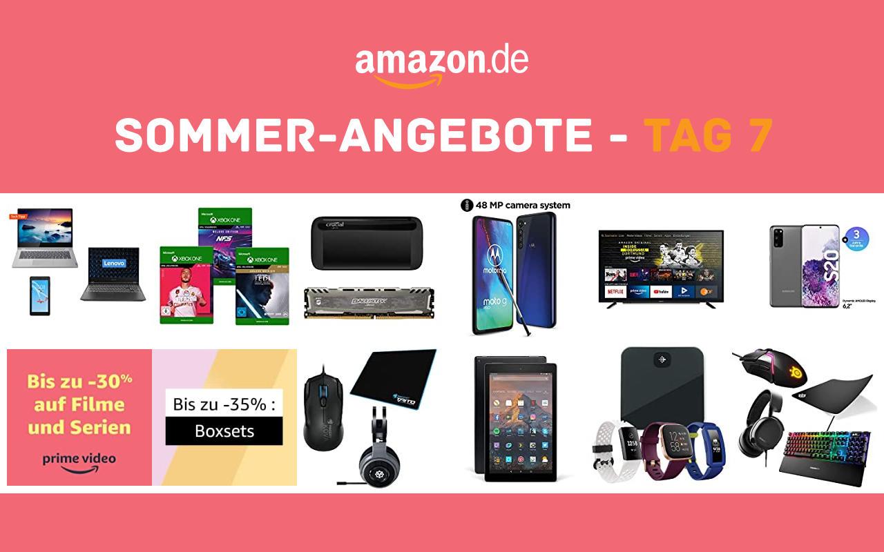 Sommer-Angebote bei amazon.de - Tagesangebote und Blitzangebote - Tag 7