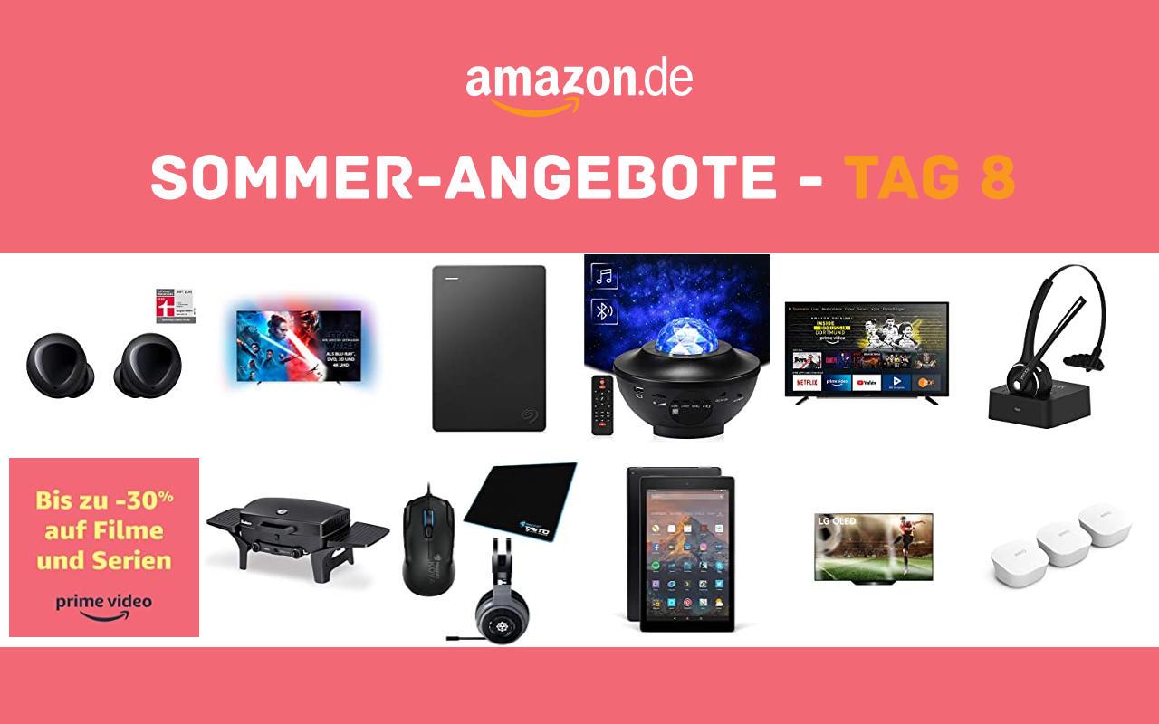 Sommer-Angebote bei amazon.de - Tagesangebote und Blitzangebote - Tag 8