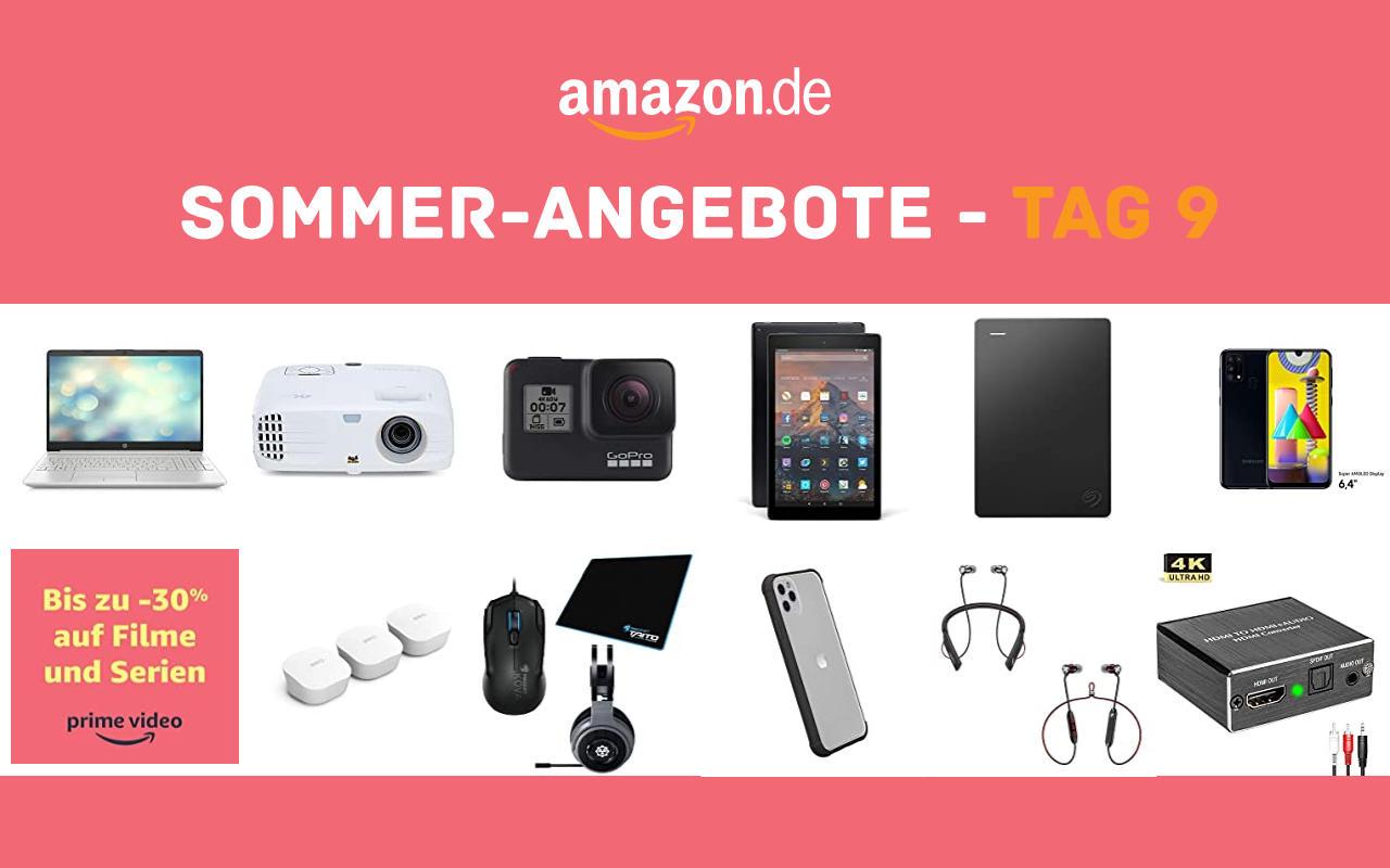 Sommer-Angebote bei amazon.de - Tagesangebote und Blitzangebote - Tag 9
