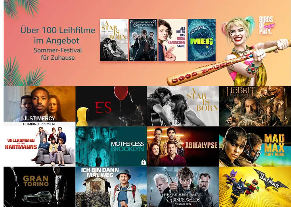 Prime Video - Über 100 Filme günstiger leihen ab 97 Cent