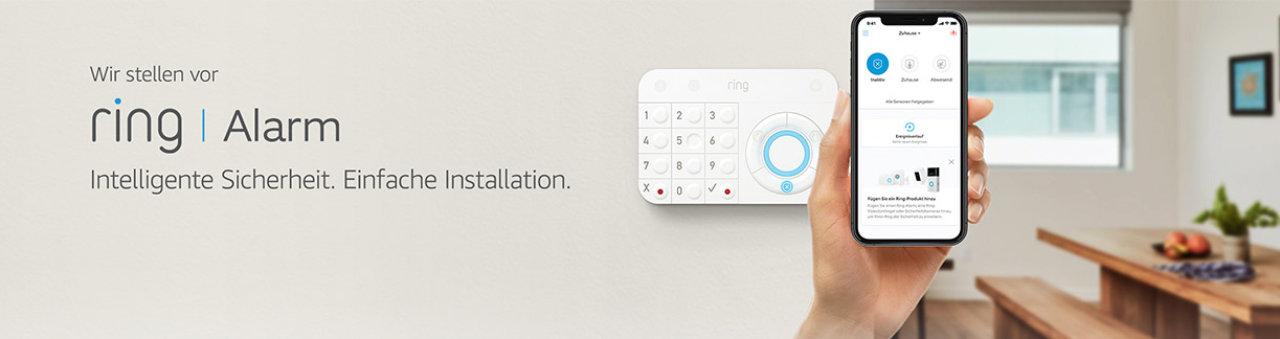 Ring Alarm - Alarmanlage selbst installieren und mit Alexa steuern