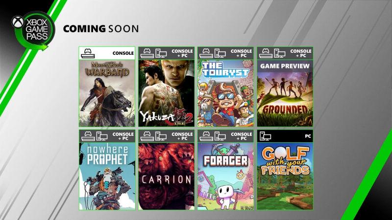Xbox Game Pass - Neue Spiele im Juli für die Xbox One Konsole und den PC