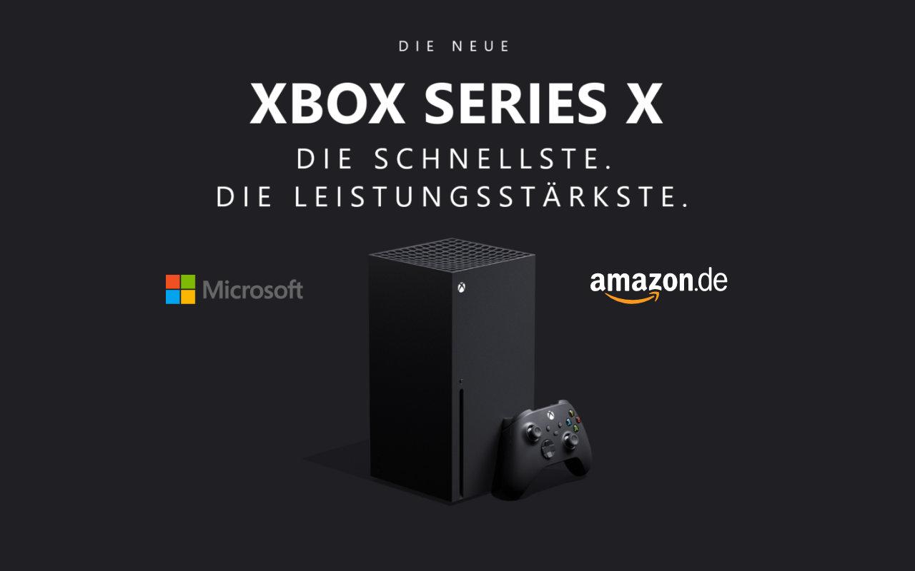 Xbox Series X - E-Mailbenachrichtigung von Amazon - Auf dem Weg zur Vorbstellung