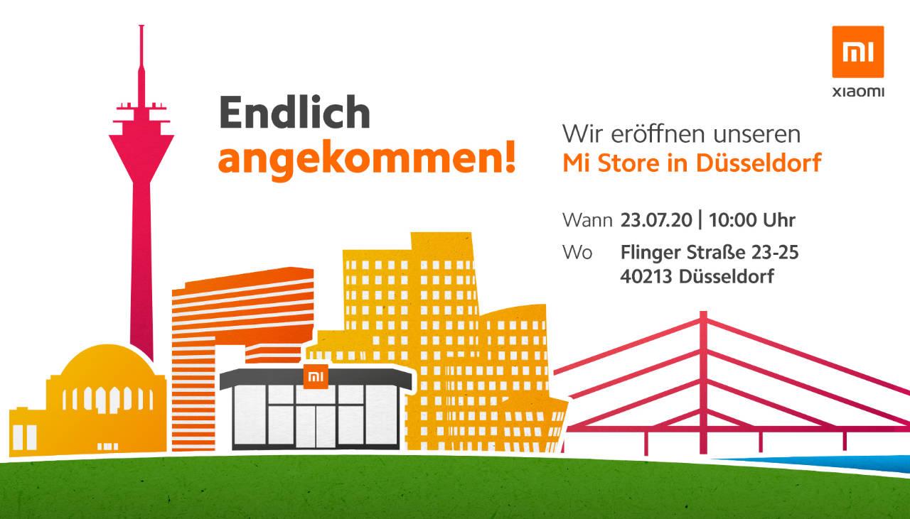 Endlich angekommen - Mi Store Düsseldorf von Xiaomi