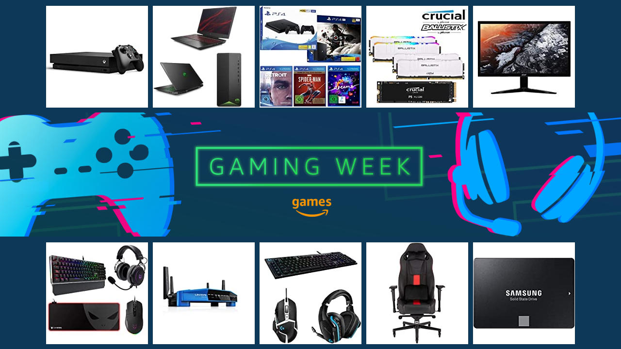 Amazon Gaming Week 2020 - letzter Tag - Angebote zur Gamescom 2020 digital