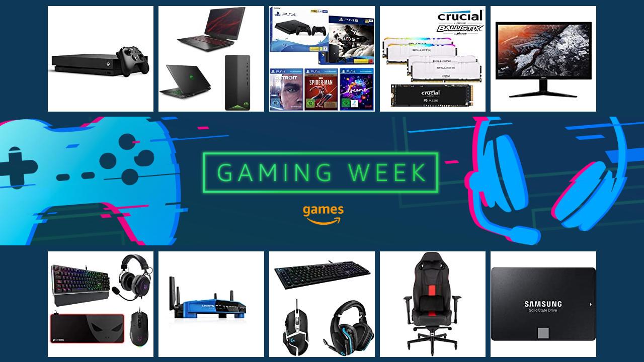 Amazon Gaming Week 2020 - Angebote zur Gamescom 2020 digital