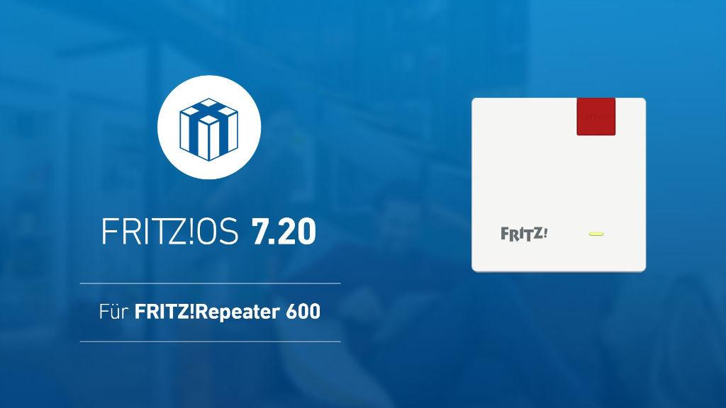 FRITZ!OS 7.20 - Die Auslieferung geht weiter  - FRITZ!Repeater 600