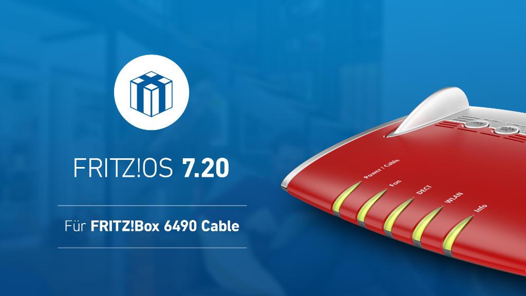 FRITZ!OS 7.20 - Die Auslieferung geht weiter - FRITZ!Box 6490 Cable auch Unitymedia bzw. Vodafone