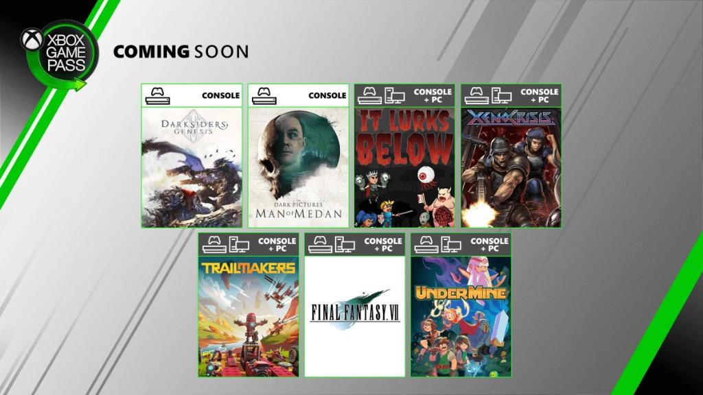 Xbox Game Pass - Neue Spiele im August für die Xbox One Konsole und den PC