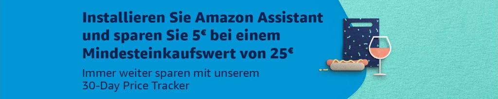 5 Euro Amazon Gutschein - mit Prime nur Browsererweiterung installieren