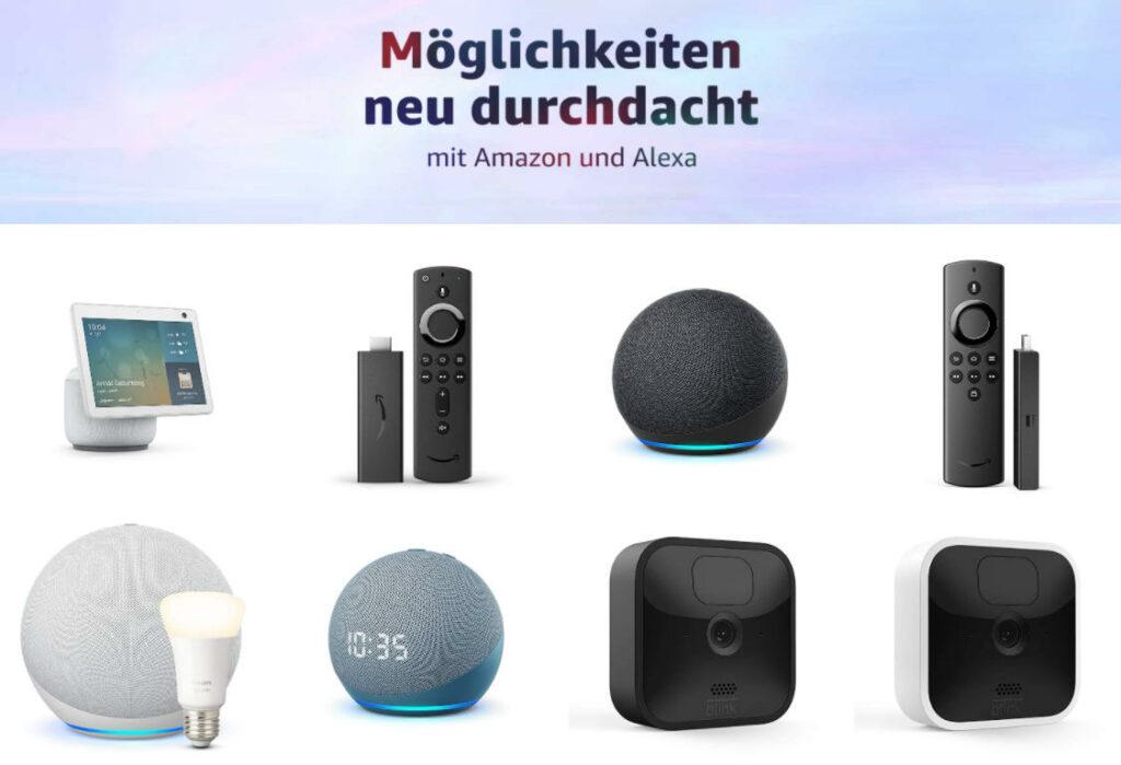 Neue Alexa Geräte