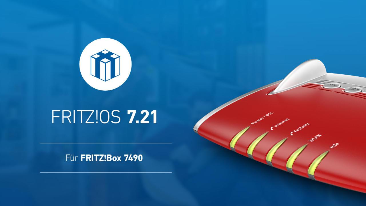 FRITZ!Box 7490 endlich auch das Update auf FRITZ!OS 7.20 bzw. gleich 7.21 - auch 7430 wird versorgt