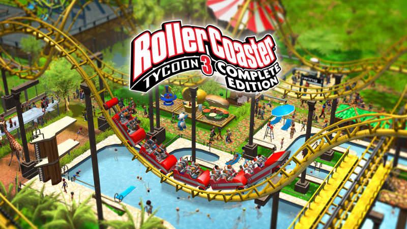 RollerCoaster Tycoon 3 Complete Edition kostenlos bis zum 01.10.. (Windows) kostenlos - Epic Games Store