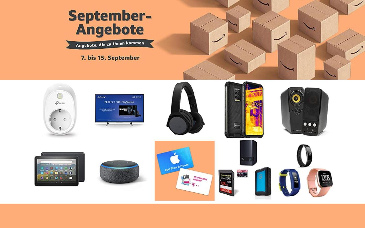 September-Angebote bei amazon.de - Tagesangebote und Blitzangebote - Tag 2
