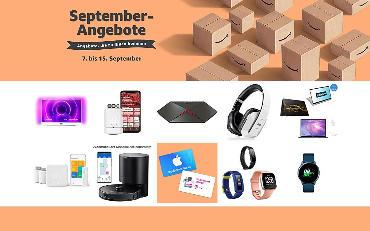 September-Angebote bei amazon.de - Tagesangebote und Blitzangebote - Tag 3