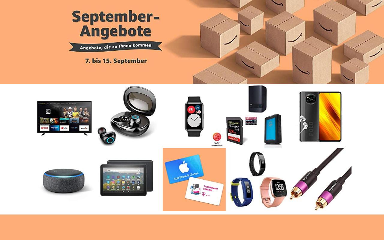 September-Angebote bei amazon.de - Tagesangebote und Blitzangebote - Tag 5