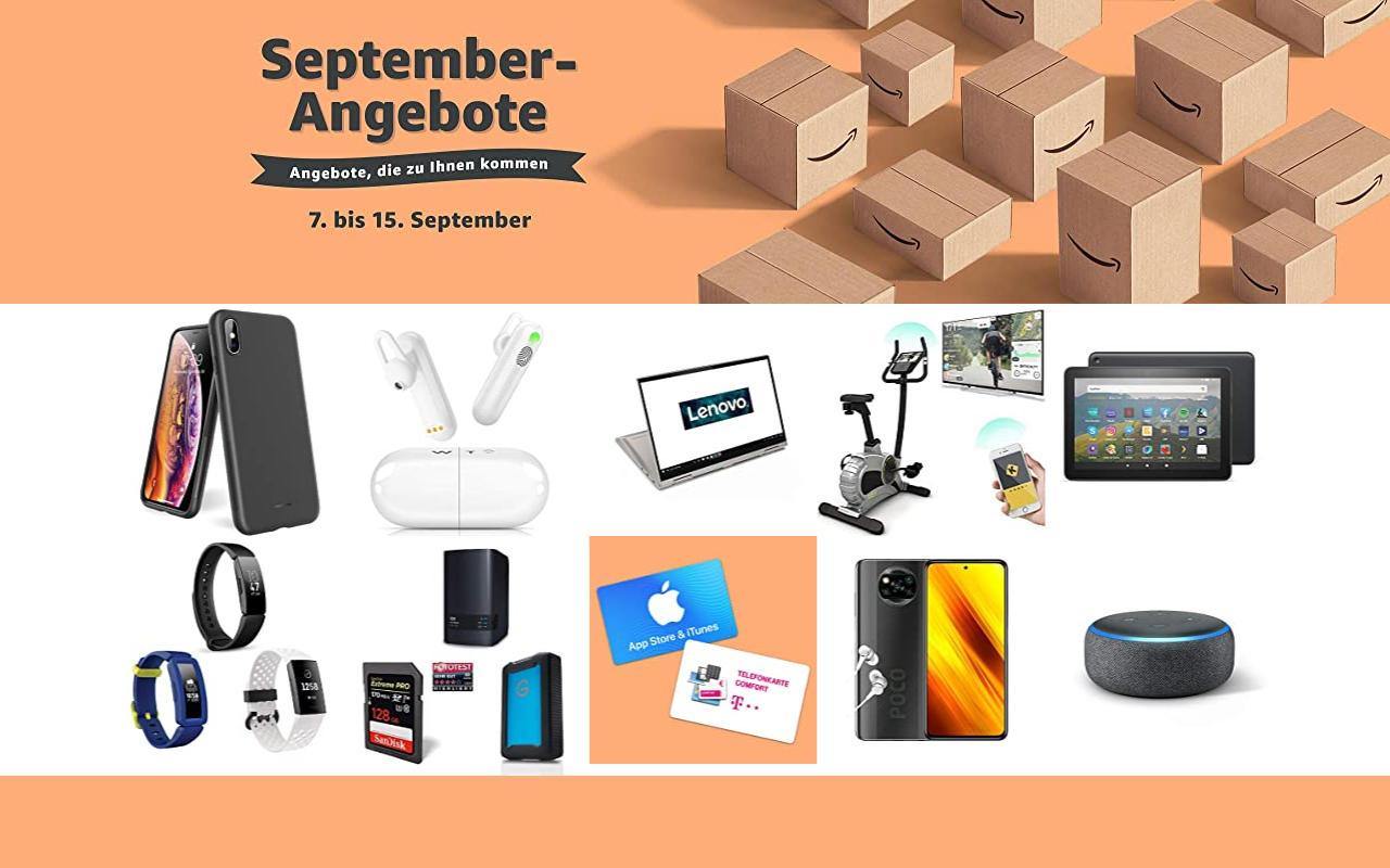 September-Angebote bei amazon.de - Tagesangebote und Blitzangebote - Tag 6