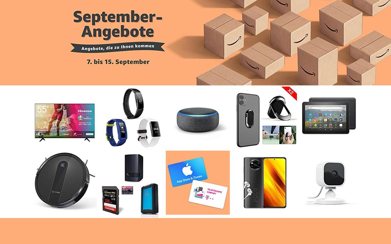 September-Angebote bei amazon.de - Tagesangebote und Blitzangebote - Tag 7