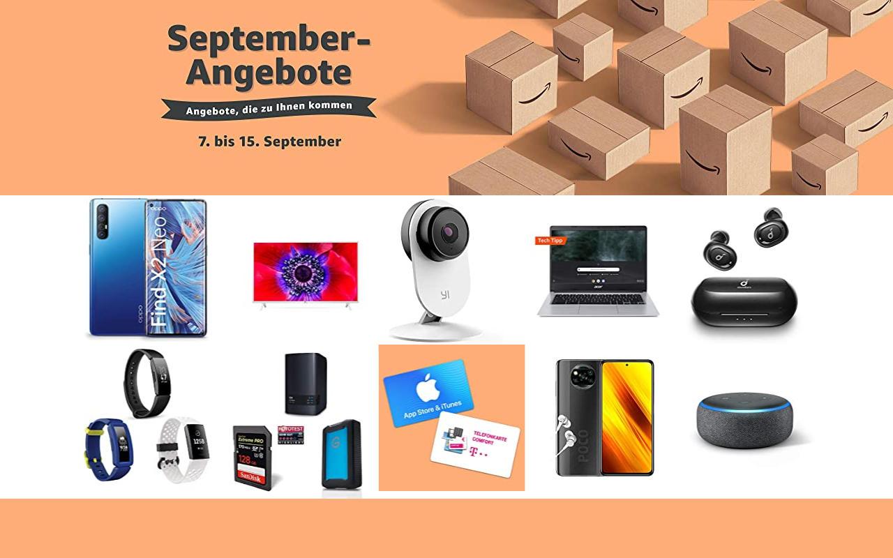 September-Angebote bei amazon.de - Tagesangebote und Blitzangebote - Tag 8