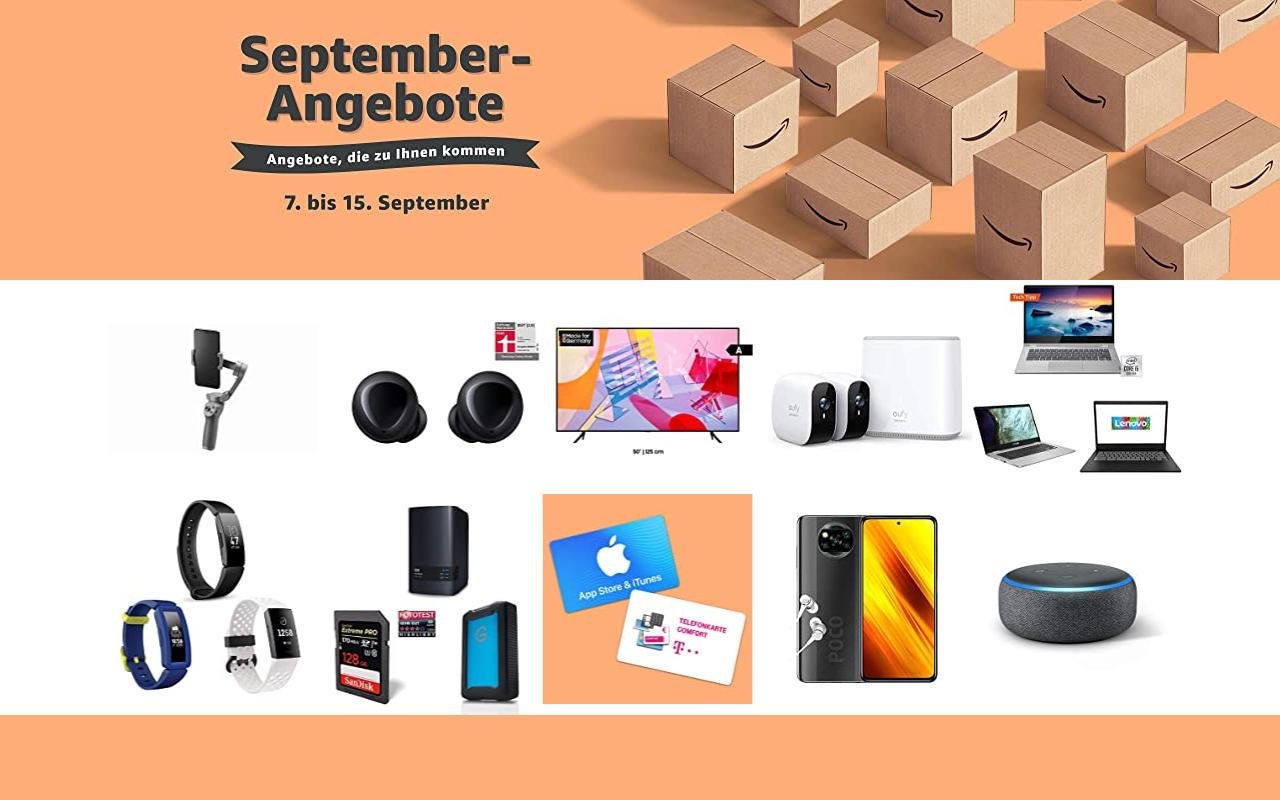 September-Angebote bei amazon.de - Tagesangebote und Blitzangebote - Tag 9 -letzer Tag
