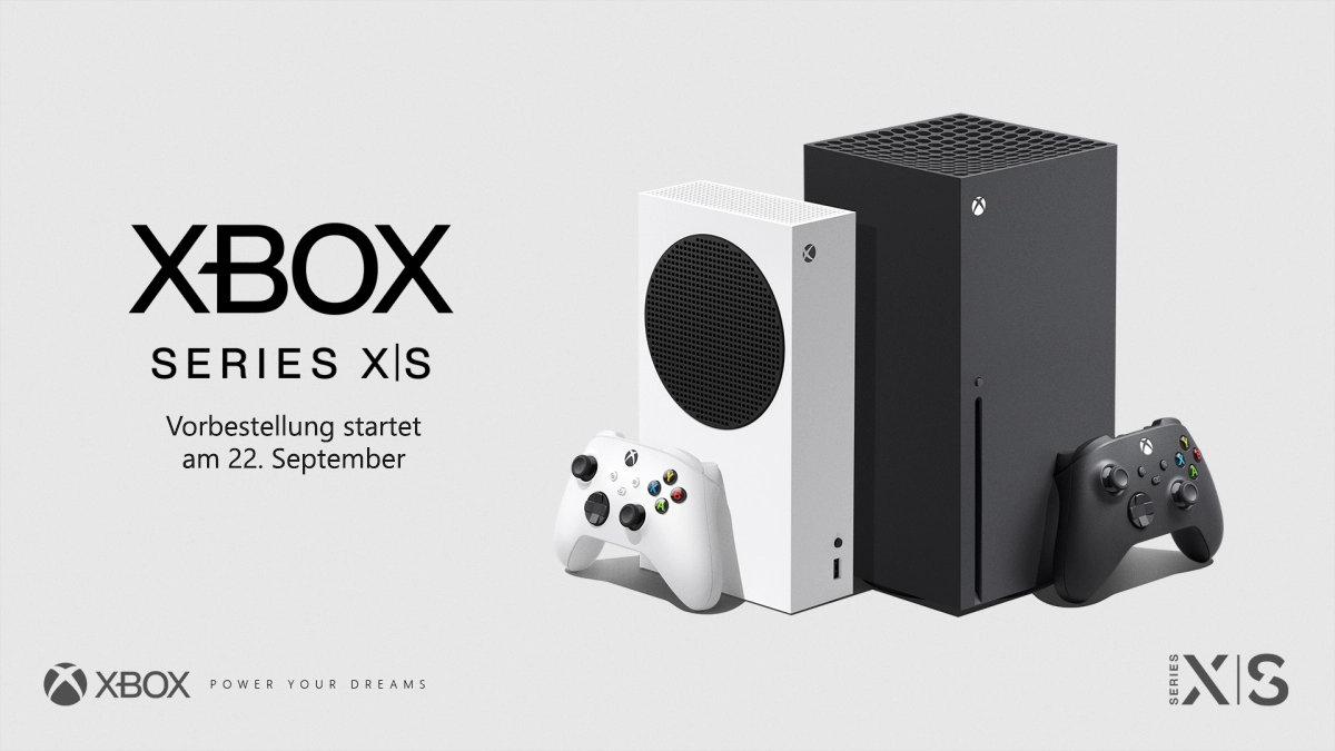 Xbox Series X und Series S Konsolen von Microsoft- Vorbestellung ab dem 22. September um 9 Uhr