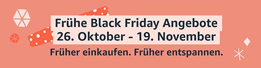 Amazon Black Friday 2020 - frühe Angebote schon jetzt