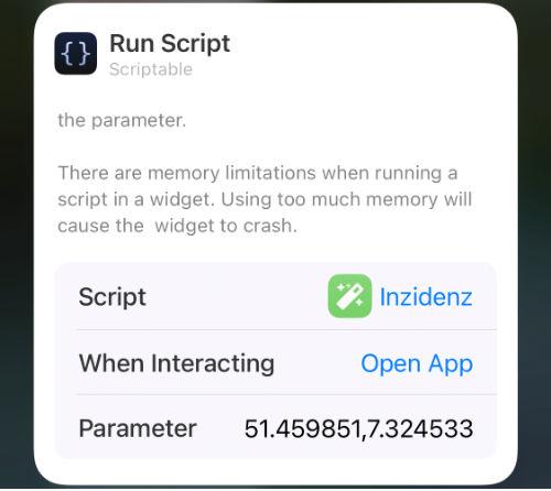 Covid-19 Inzidenz als Widget für iOS