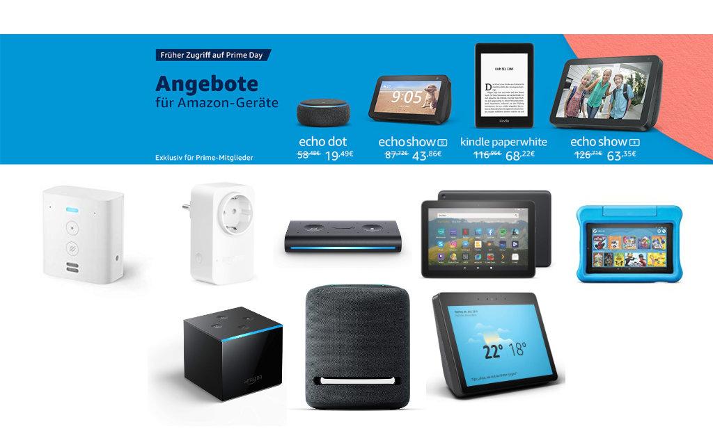 Amazon Prime Day - Angebote für Echo Dot, Echo Auto, Echo Show, Echo Studio und mehr gestartet
