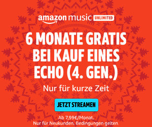 6 Monate Amazon Music Unlimited gratis beim Kauf von Echo Dot 4