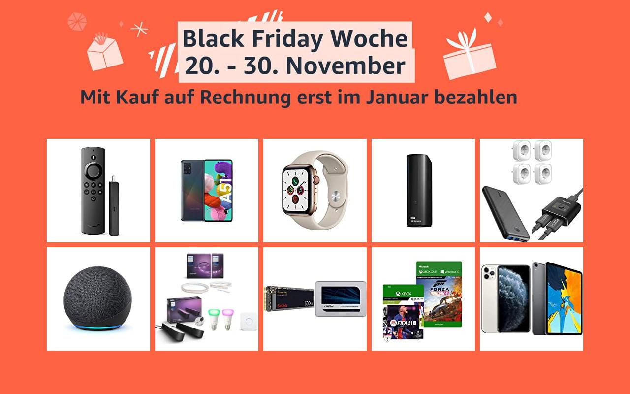 Amazon Black Friday Woche - Tag 2 - Schnäppchen Angebote Warehouse Deals und mehr