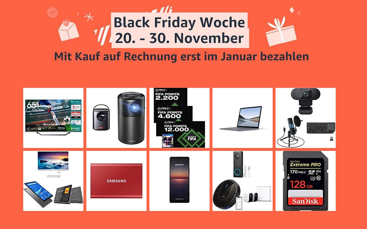 Amazon Black Friday Woche - Tag 4 - Schnäppchen Angebote Warehouse Deals und mehr