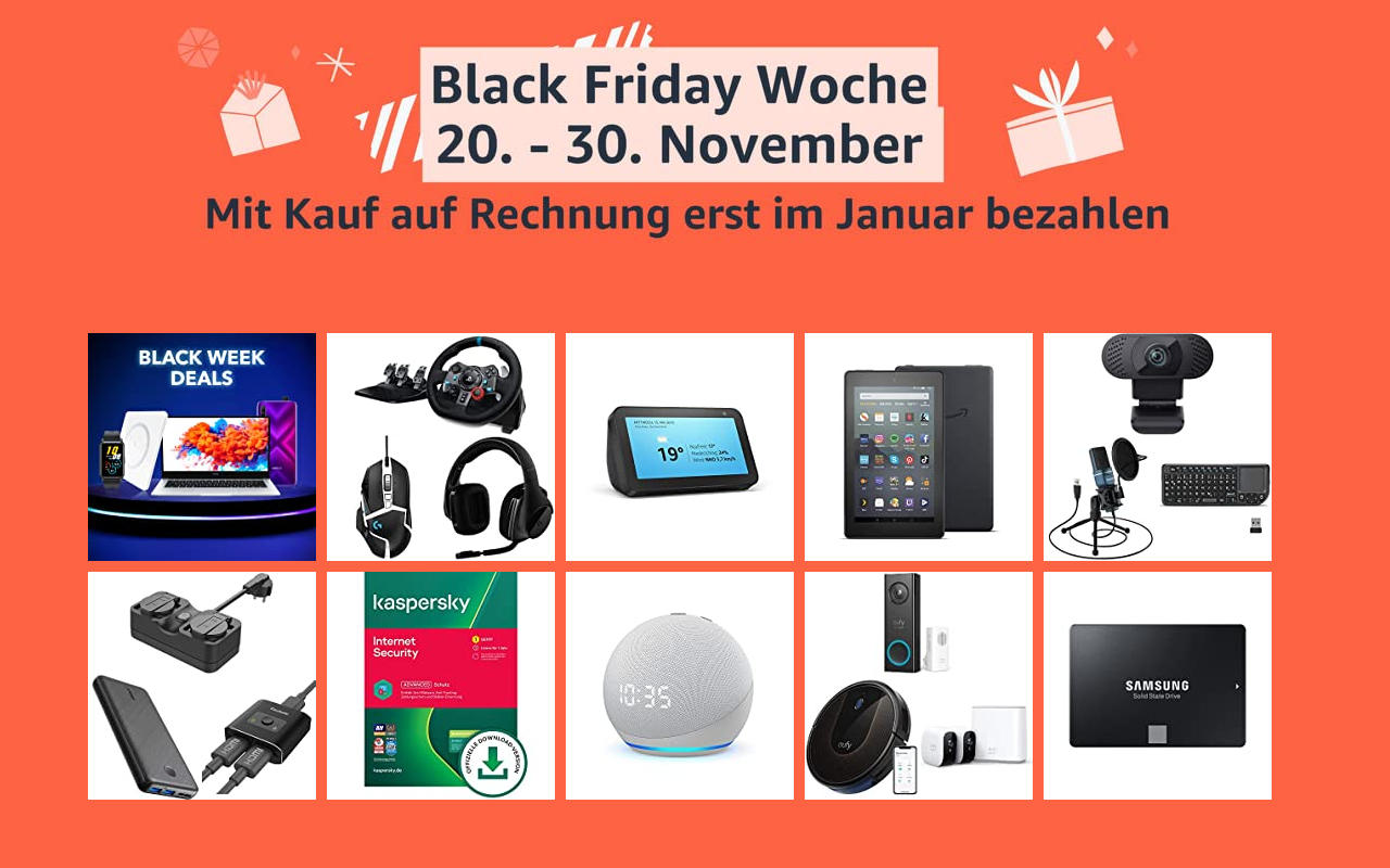 Amazon Black Friday Woche - Tag 5 - Schnäppchen Angebote Warehouse Deals und mehr