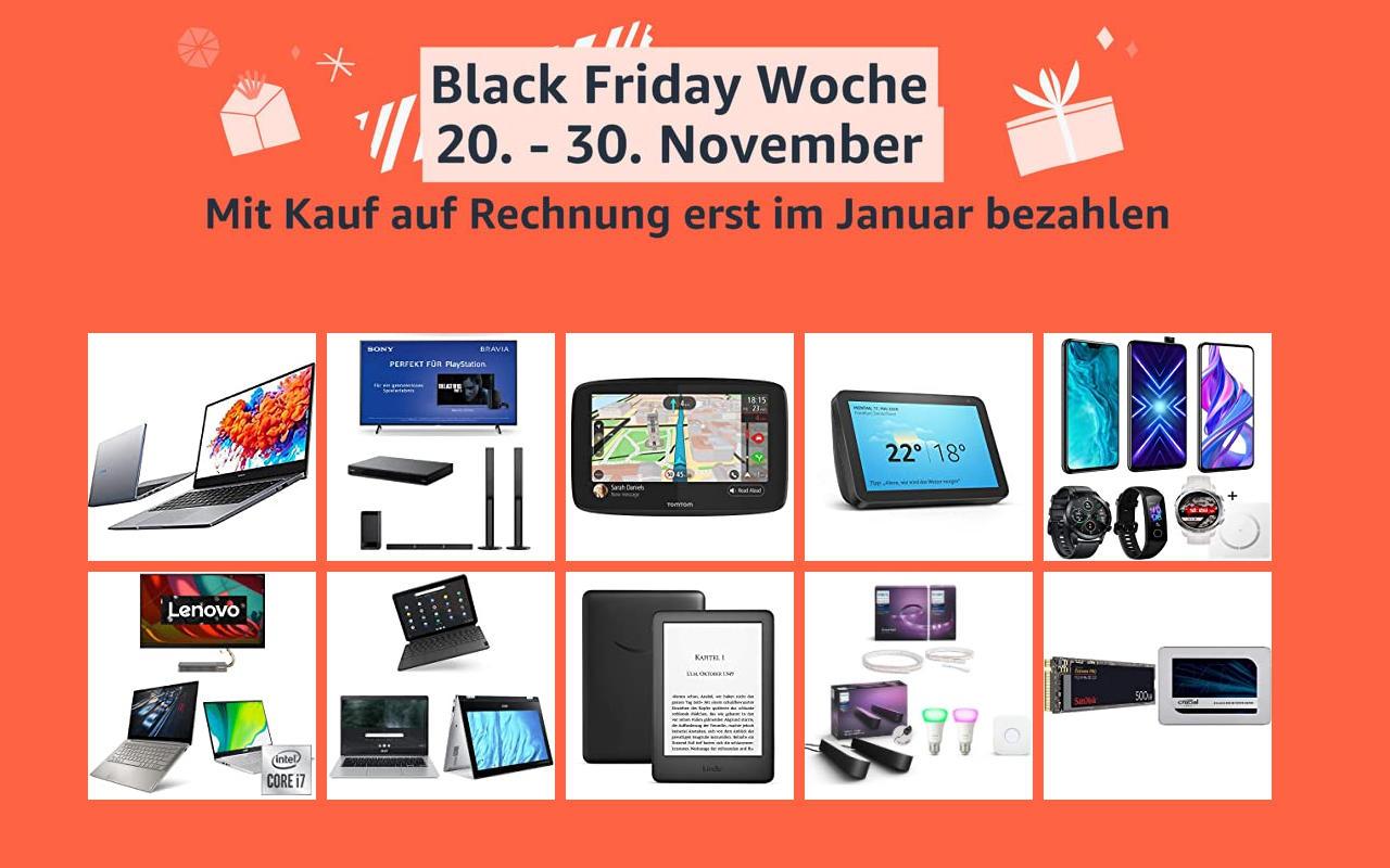 Amazon Black Friday Woche - Tag 6 - Schnäppchen Angebote Warehouse Deals und mehr
