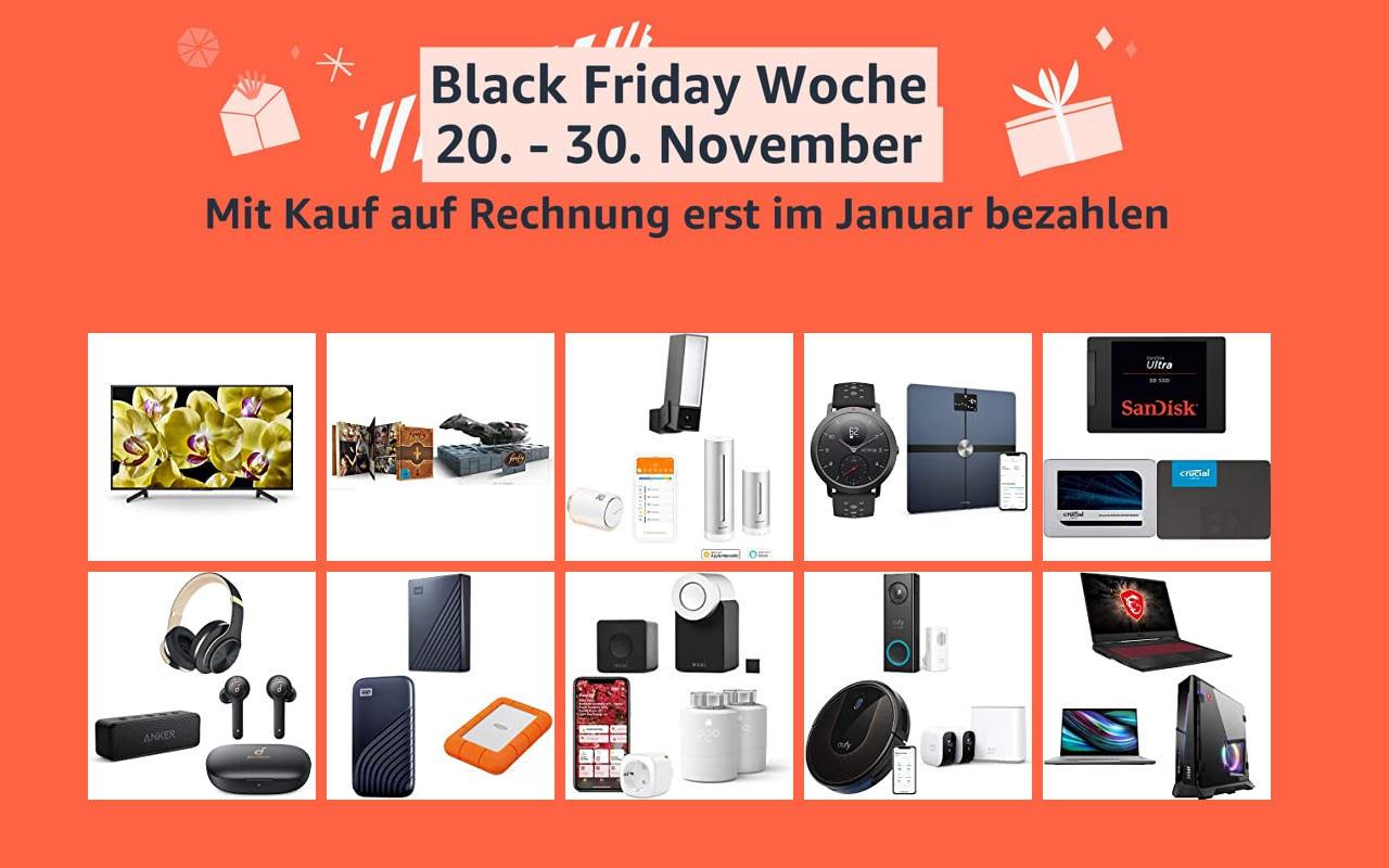 Black Friday Woche 2020 - Samstag den 29.11.2020 - Tag 10 - Technik