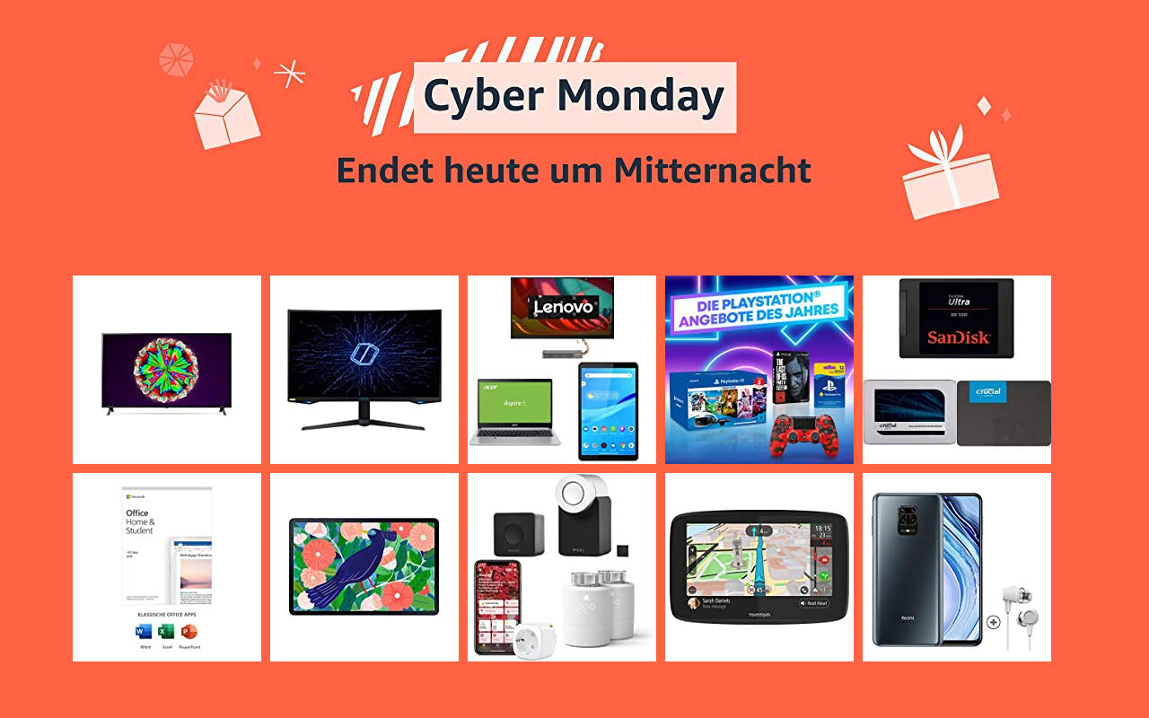 Cyber Monday  2020 - Montag der 30.11.2020  - Technik