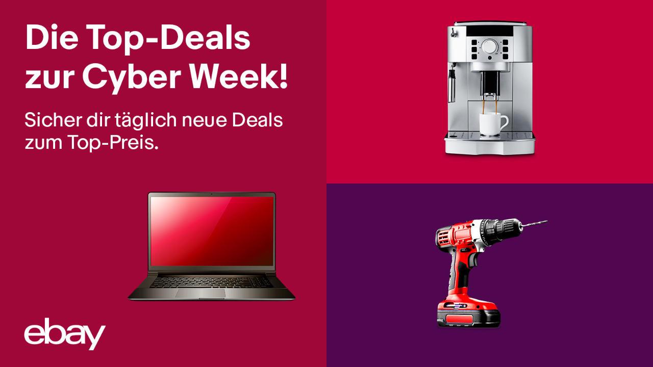 eBay Cyber Week 2020 - Viele Angebote, Deals und Gutscheine