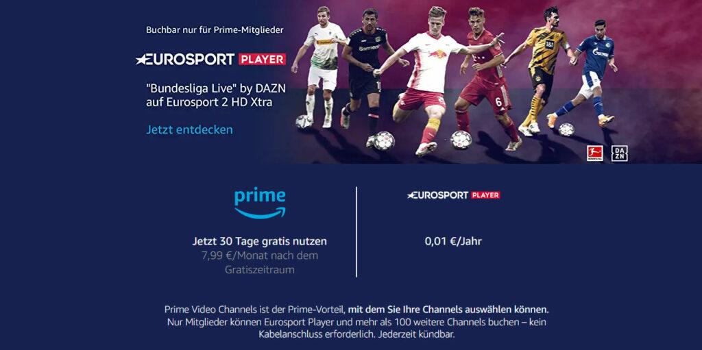 Eurosport Player Preise