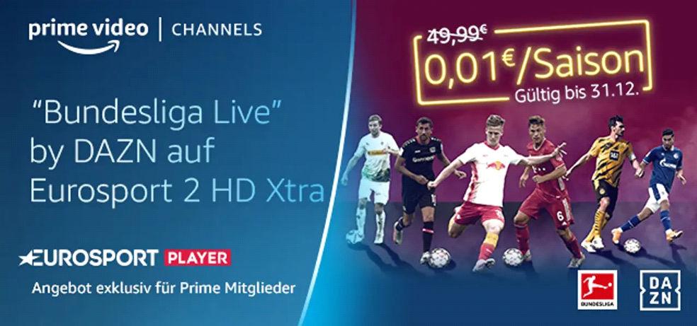 Bundesliga Saison 2020/2021 im Livestream für einen Cent - Eurosport zeigt DAZN Bundesliga Live