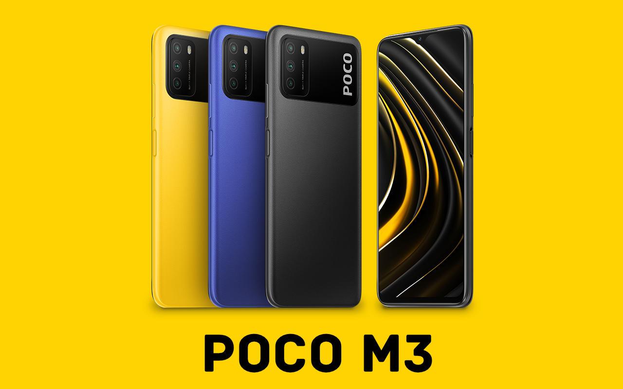 Poco M3 (Xiaomi) - Sehr günstiges Smartphone mit solider Ausstatung