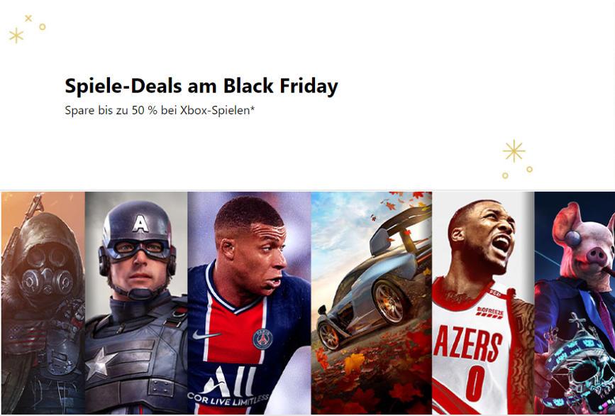 Microsoft Xbox - Black Friday Deals - Spiele für Konsolen und PC im Xbox Store günstiger