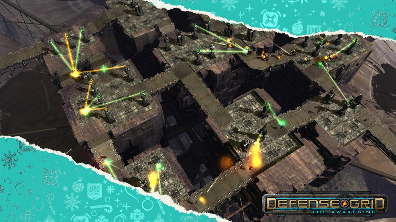 Defense Grid: The Awakening kostenlos - Tag 4 - Festtagsangebote - 15 Tage lang jeden Tag ein kostenloses Spiel