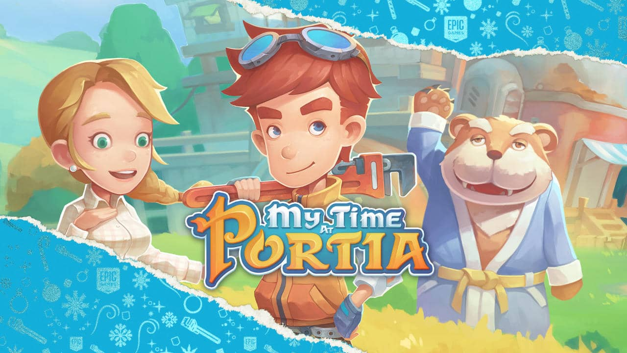 My Time At Portia -Tag 10 - Festtagsangebote - 15 Tage lang jeden Tag ein kostenloses Spiel