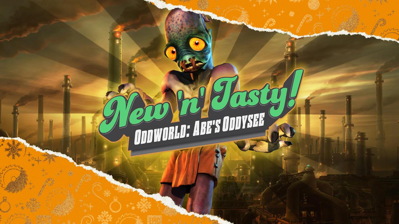 Oddworld: New 'n' Tasty kostenlos - Tag 2 - Festtagsangebote - 15 Tage lang jeden Tag ein kostenloses Spiel