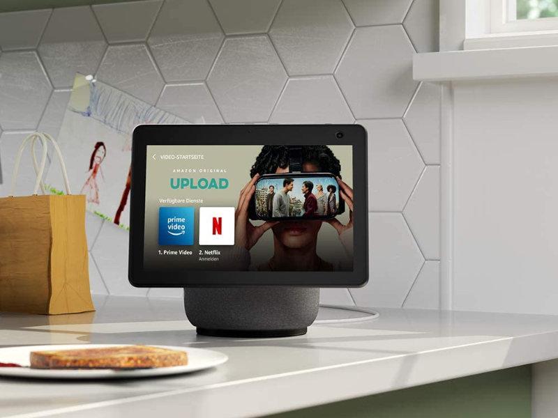 Netflix auf Amazon Echo mit Bildschirm nutzen - Echo Show kann jetzt Netflix