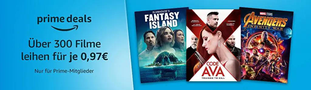 Über 300 Filme für je 97 Cent ausleihen - Winterangebote bei amazon.de - Heimkino Schnäppchen