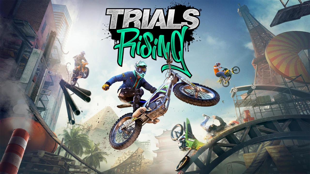 Trials Rising kostenlos für PC - Freebies von Ubisoft
